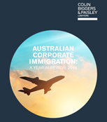 Australian Corporate Immigration, A year in review, 2018